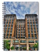 First Niagara Building With Takis Spiral Notebook