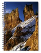 First Snow At Bryce Canyon Spiral Notebook