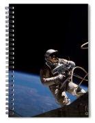 First U.s. Spacewalk Spiral Notebook