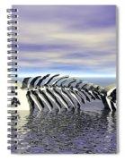 Fish Bones Spiral Notebook