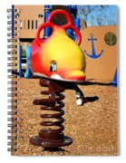 Fish Jumper Spiral Notebook