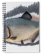 Fish Mount Set 04 C Spiral Notebook