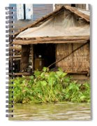 Fisherman Boat House Spiral Notebook