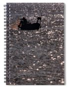 Fisherman Spiral Notebook