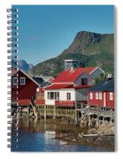 Fishermen's Houses Spiral Notebook