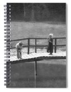Fishers Spiral Notebook