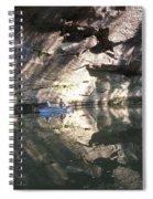 Fishin On The Little Sandy Spiral Notebook