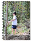 Fishing Beyond The Gristmill Spiral Notebook