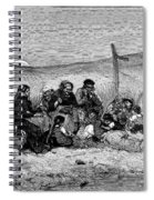 Fishing Boat, 1882 Spiral Notebook