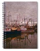 Fishing Boats Of Steveston-ca Spiral Notebook