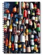 Fishing Floats Spiral Notebook