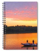 Fishing For Gold Spiral Notebook