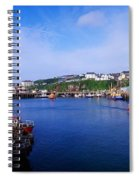 Fishing Harbour, Dunmore East, Ireland Spiral Notebook