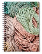 Fishing Lines Spiral Notebook