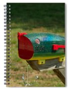 Fishing Lure Mailbox 1 Spiral Notebook