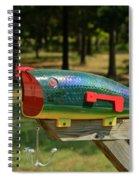 Fishing Lure Mailbox 2 Spiral Notebook