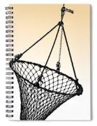 Fishing Net Spiral Notebook