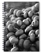 Fishing Nets And Buoys Spiral Notebook