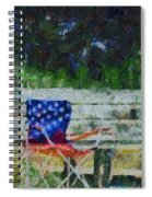 Fishing On Memorial Day Spiral Notebook