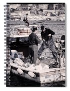 Fishing On The Golden Horn Spiral Notebook