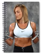 Fitness 8 Spiral Notebook