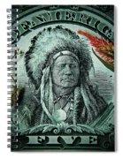 Five Bucks  Spiral Notebook