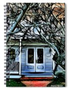Five Gables Inn Of St Michaels Spiral Notebook