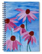 Five Ladies Dancing Spiral Notebook