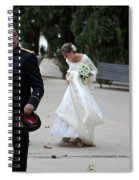 Fixing Her Gown Spiral Notebook