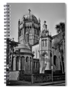 Flagler Memorial Presbyterian Church 3 - Bw Spiral Notebook