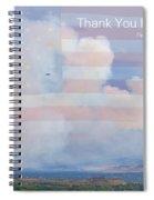 Flagstaff Fire  Thank You Firefighters Spiral Notebook