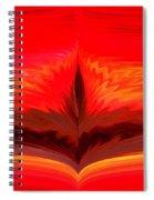 Flame 3 Spiral Notebook
