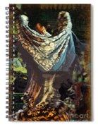 Flamenco Series No 1 Spiral Notebook