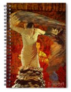 Flamenco Series No 2 Spiral Notebook