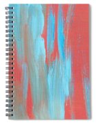 Flames Of Ice Spiral Notebook