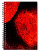 Flaming Foliage Spiral Notebook