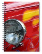 Flaming Hot Rod 2 Spiral Notebook