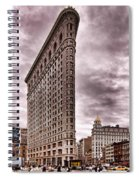 Flat Iron Building Spiral Notebook