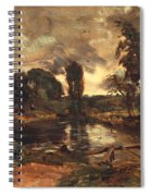 Flatford Mill From The Lock Spiral Notebook