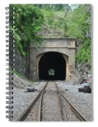 Flatrock Tunnel Spiral Notebook