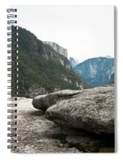 Flattop Rock Yosemite Spiral Notebook