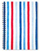 Fleece Background Spiral Notebook