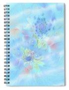 Fleur De Fantasm Spiral Notebook