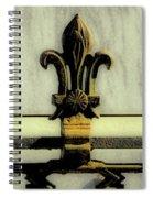 Fleur De Lis Two Spiral Notebook