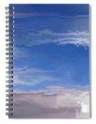 Flight Under Glass Spiral Notebook
