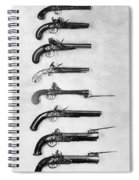 Flintlock Pistols Spiral Notebook