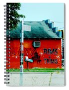 Flippa City  Spiral Notebook