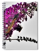Float Like A Butterfly Sting Like A Bee Spiral Notebook