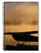 Float Plane, Long Lake, Sudbury, Ontario Spiral Notebook