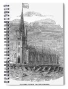 Floating Church, 1849 Spiral Notebook